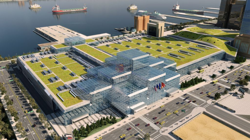 Green Roof System Selected for Jacob K. Javits Convention Center ...