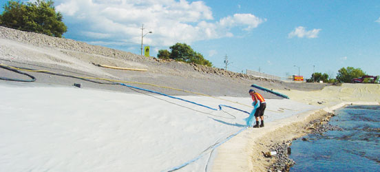 dam, hydropower, geotextile, storm water solutions
