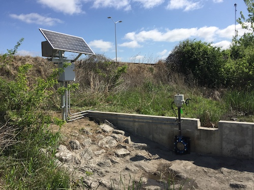 The system reduces storm water management costs for  rate payers.