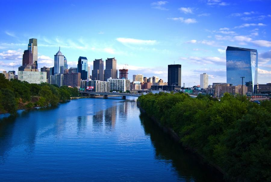 Philadelphia opens two new storm water runoff retention basins