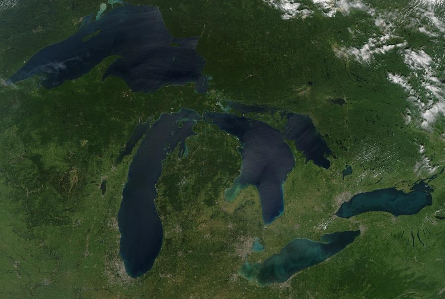 Small wetlands play role in algal blooms of great lakes