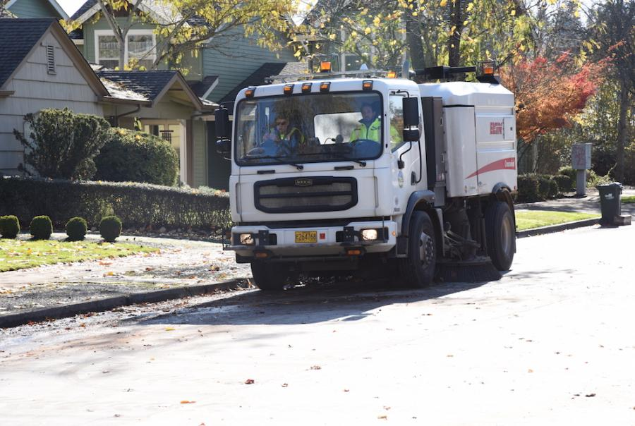 Sweeper Fleet Keeps Streets Clean, Storm Water Flowing