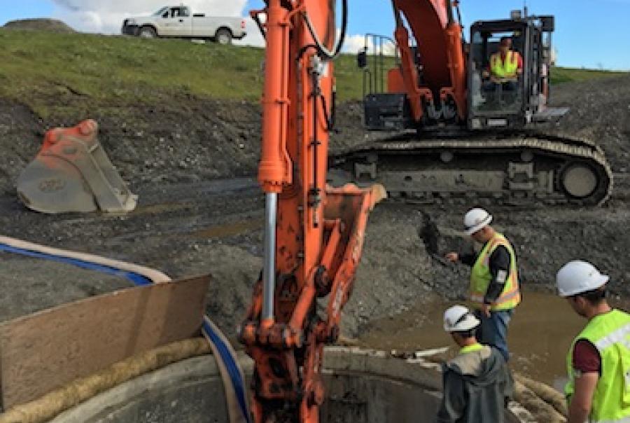 Anchorage International Airport rehabilitates storm drain system