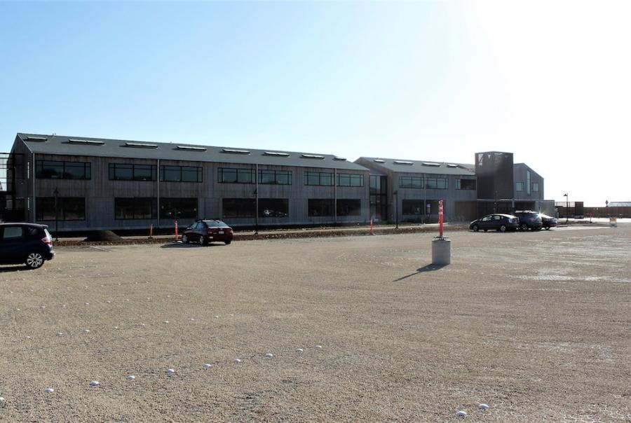 Permeable Pavers Transform Parking Lot