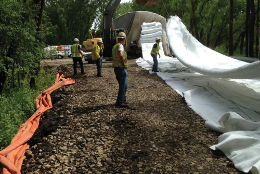 CIPP Lining in Wildlife Refuge Requires Liner Manufacturer House Call