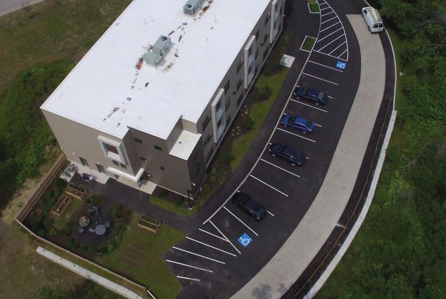 Maine Project Uses Permeable Pavement, Storage System