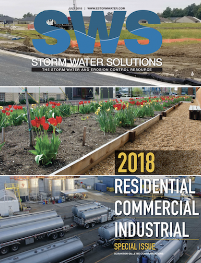 July 2018 issue of Storm Water Solutions magazine