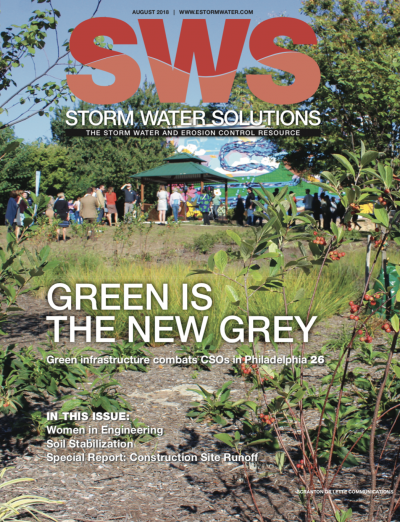 August 2018 issue of Storm Water Solutions magazine