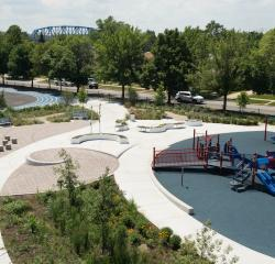 Space to Grow uses storm water management in school yards
