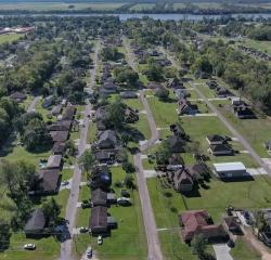 Drainage System Mitigates Flooding in Louisiana Parish